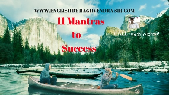 11 Mantras to Success