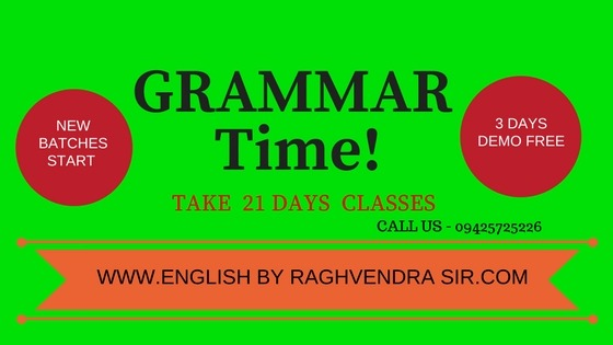 GRAMMAR FOR COMPETITIONS EXAM