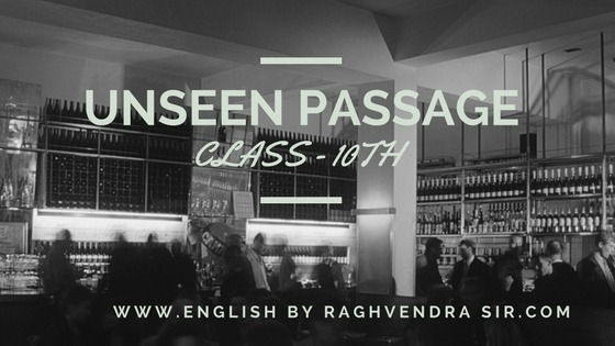 M.P,BOARD 10th UNSEEN PASSAGE