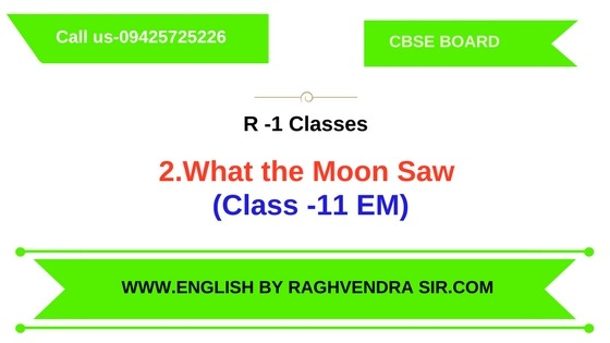 2.What the Moon Saw (11th EM)