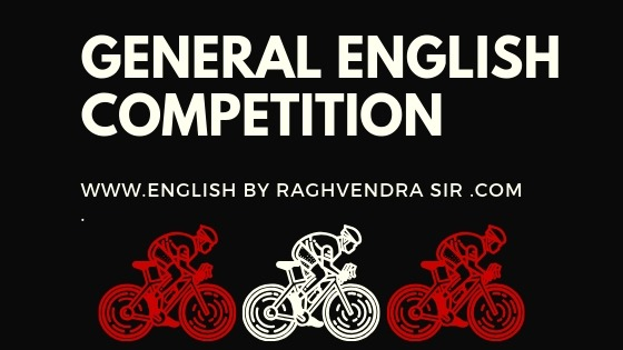 GENERAL ENGLISHCOMPETITION