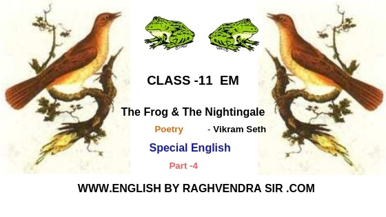 12.The Frog & the Nightingale