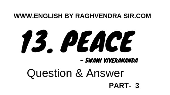 Peace by Swami Vivekananda