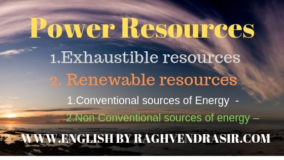 Resources of Power