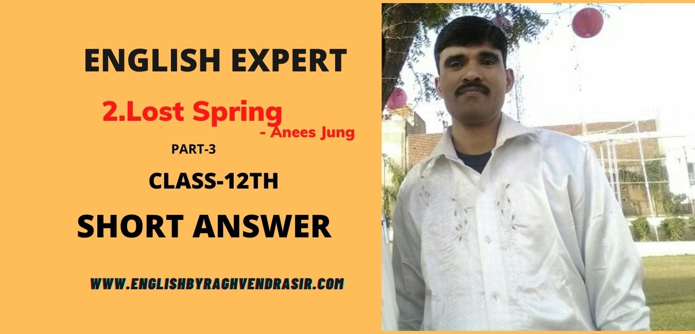 LOST SPRING SHORT ANSWER